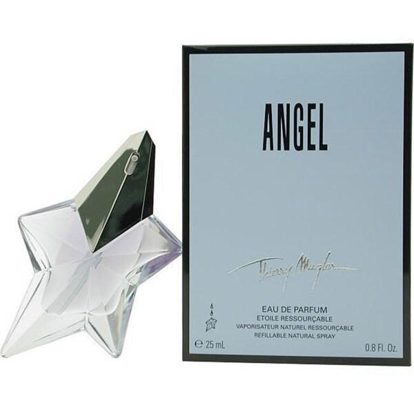 Thierry Mugler 'Angel' Women's 0.8-ounce Eau de Parfum Refillable Spray with Feminine Scent