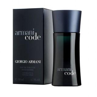 Giorgio Armani Code Men's 1.7-ounce Eau de Toilette Spray