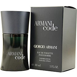 Giorgio Armani 'Armani Code' Men's 1-ounce Eau de Toilette Spray