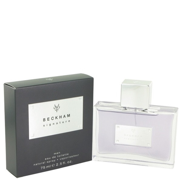Beckham Signature Men's 2.5-ounce Eau de Toilette Spray