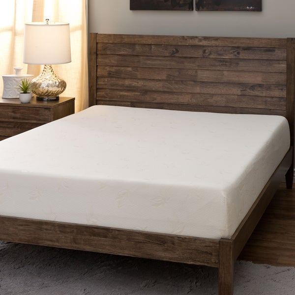 Comfort Dreams Select-A-Firmness 9-inch Twin-size Memory Foam Mattress