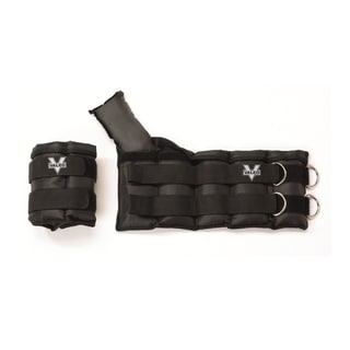 Valeo 10-pound each Adjustable Ankle/Wrist Weights (set of 2)