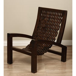 Hand-woven Wooden Arm Chair (Indonesia)