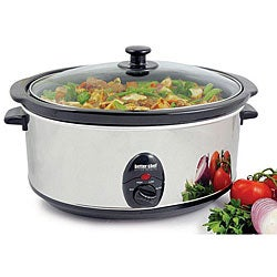 Better Chef 6.5-quart Oval Slow Cooker