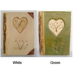 Bamboo Paper Natural Heart Photo Album (Indonesia)