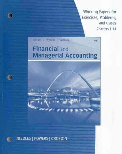 Financial and Managerial Accounting: Chapters 1-14 (Paperback)