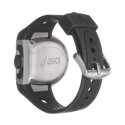 Asics Men's 'Active Running' Black Rubber Strap Digital Watch
