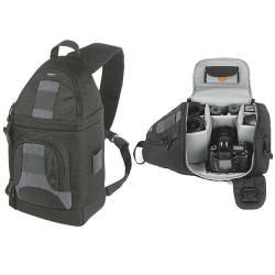 LowePro SlingShot 202 AW Black Camera Backpack