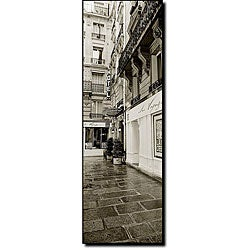 Preston 'Hotel in Paris' Ready-to-hang Canvas Art