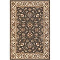 "Hand-Tufted Gray Mandara New Zealand Wool Rug (2'6"" x 7'6"")"
