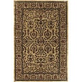 "Hand-Tufted Contemporary Mandara Rug (7'9"" Round)"