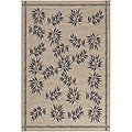 Mandara Indoor/ Outdoor Beige Rug (7'9 x 11')