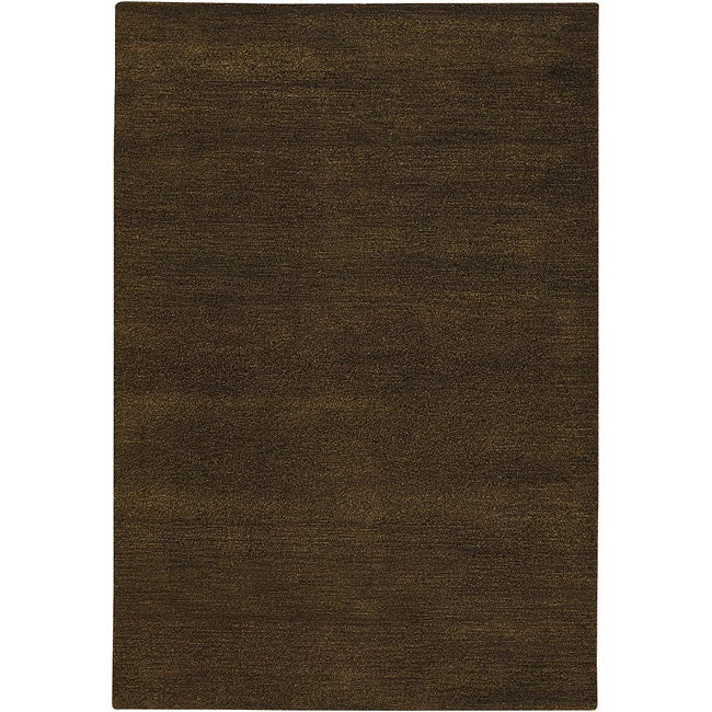 Hand-Tufted Mandara Wool/Silk Rug (5' x 7'6)