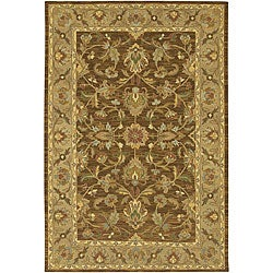 Hand-knotted Traditional Mandara Rug (5' x 7'6)