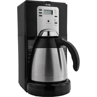 Mr. Coffee 10-Cup Programmable Coffeemaker with Thermal Carafe
