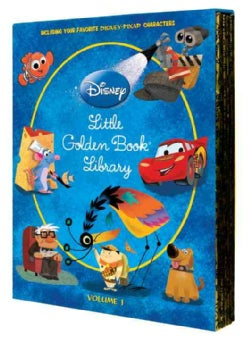Disney/Pixar Little Golden Book Library Set (Hardcover)