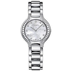 Ebel Beluga Women's 9003N18/991050 Mother of Pearl Dial Diamond Watch
