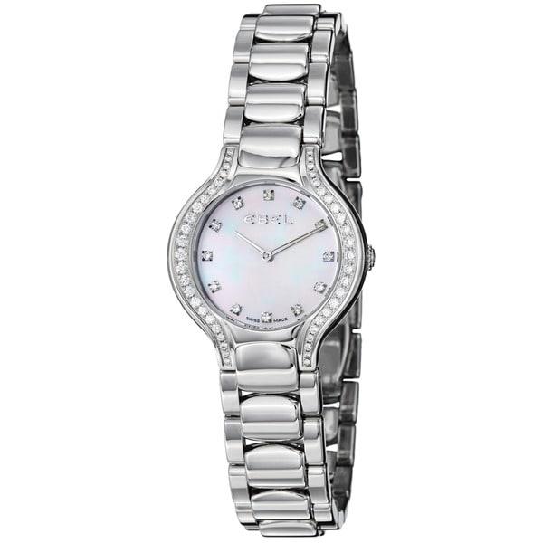 Ebel Beluga Women's 9003N18/991050 Mother of Pearl Dial Diamond Watch