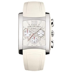 Ebel Brasilia Women's Rubber Strap Chronograph Watch