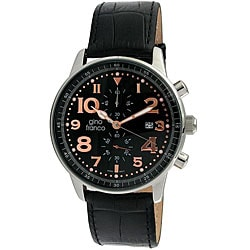Gino Franco Men's Volare Multifunction Stainless Steel Watch