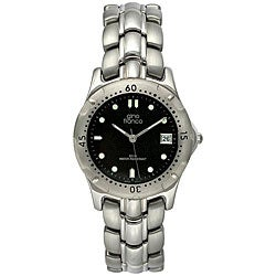 Gino Franco Men's Stainless Steel Bracelet Watch