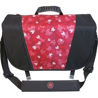 SUMO Messenger Bag - Black / Red
