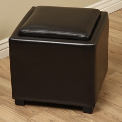 Ryan Faux Leather Storage Seat