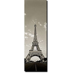 Preston 'Tour de Eifel' Gallery-wrapped Canvas Art