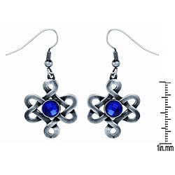 Pewter Celtic Love Knot Earrings
