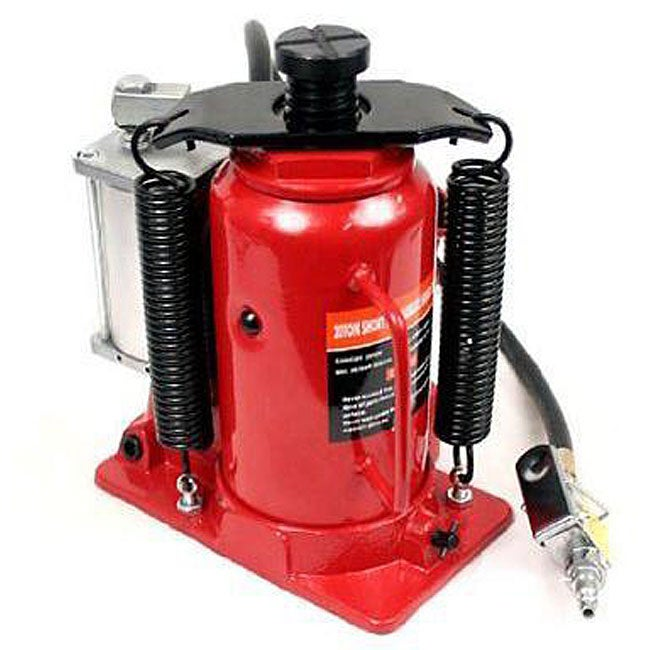 CMT Air Hydraulic 20-ton Bottle Jack