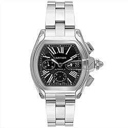 Cartier Men's Roadster Stainless Steel Watch