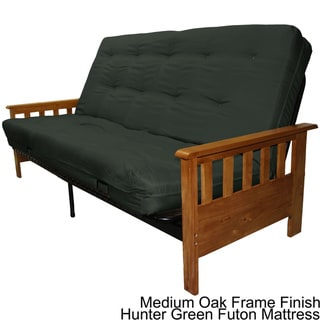 Provo Queen-size Mission-style Frame/ Mattress Futon Set