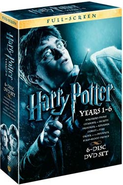 Harry Potter Years 1-6 Giftset (DVD)