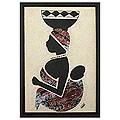 Emmanuel Yeboah 'Milk Seller from the North' Wall Art (Ghana)