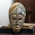 Wood 'Royal Presence' Mask (Ghana)