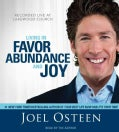 Living in Favor, Abundance and Joy (CD-Audio)