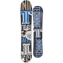 Technine MVP Series 161cm Men's Black Snowboard