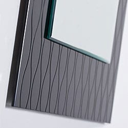 Strands Modern Wall Mirror