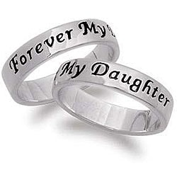 Sterling Silver Daughter's Purity Ring