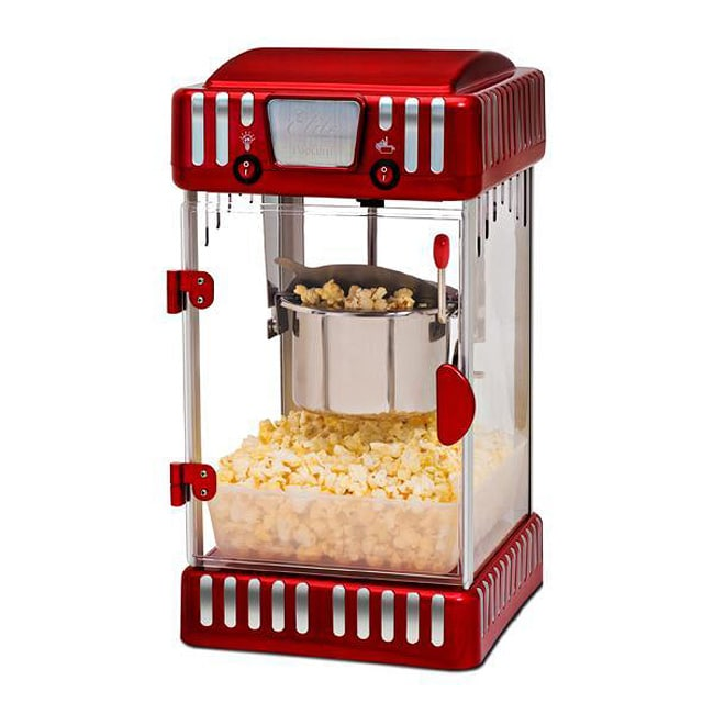 For the full concession experience, hand out freshly popped popcorn in special cones, bags or tubs. Whichever you prefer, you'll find a fun variety of popcorn packaging at Sam's Club. Last but not least, you'll want a high-quality popcorn scoop as well as the proper supplies to clean and maintain your new commercial popcorn maker.
