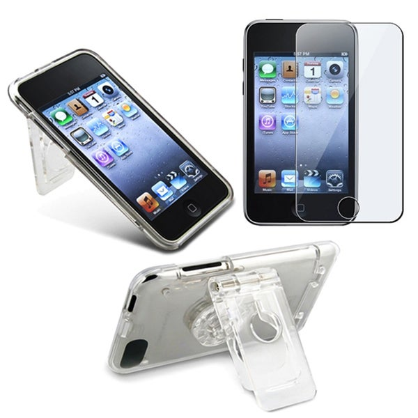 Clear Case and Screen Protector for iPod Touch 2G
