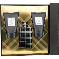 Burberry 'Burberry Brit' Men's 3-piece Fragrance Set