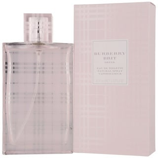 Burberry Brit Sheer Women's 3.4-ounce Eau de Toilette Spray