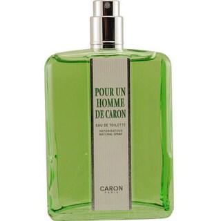 Caron Pour Homme Men's 4.2-ounce Eau de Toilette Spray (Tester)