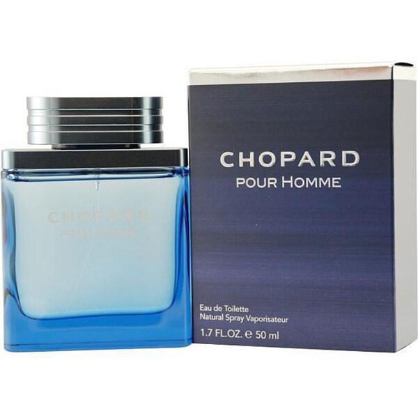 Chopard Pour Homme Men's 1.7-ounce Eau de Toilette Spray
