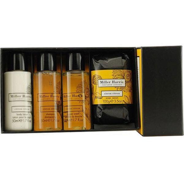 Citron Citron Unisex 4-piece Fragrance Set