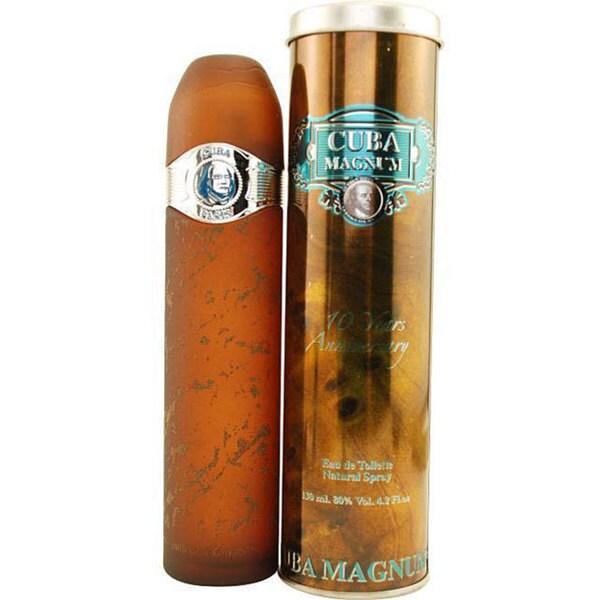 Cuba Magnum Blue Men's 4.2-ounce Eau de Toilette Spray