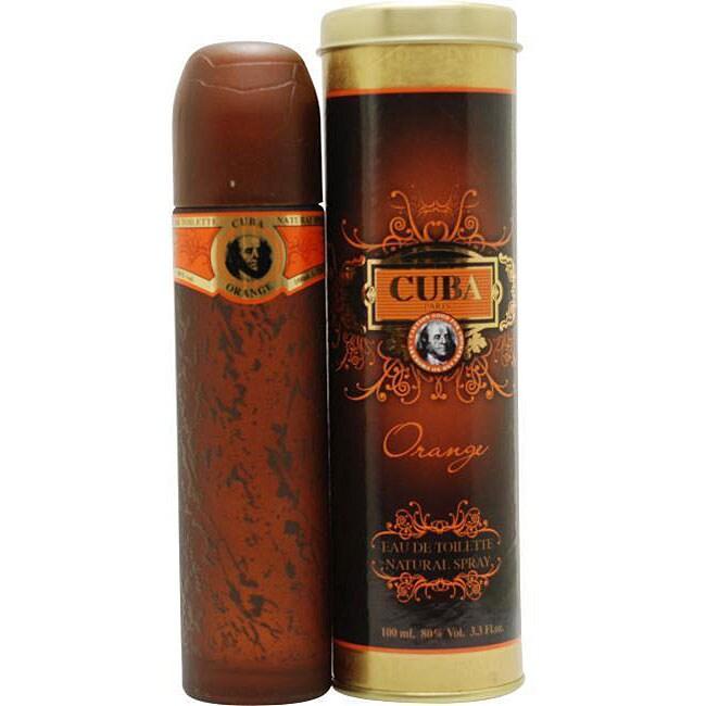 Cuba Orange Men's 3.4-ounce Eau de Toilette Spray