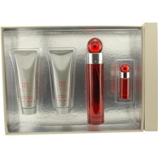 Perry Ellis 360 Red -- Gift Set 3.4-ounce Eau de Toilette Spray + 3-ounce Af