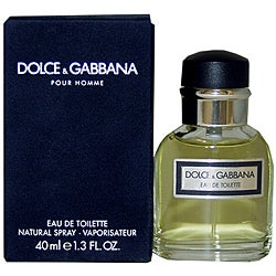 Dolce & Gabbana Men's 1.3-ounce Eau de Toilette Spray